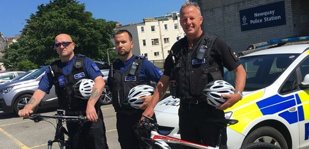 Newquay police to patrol town's streets on electric bikes over summer period