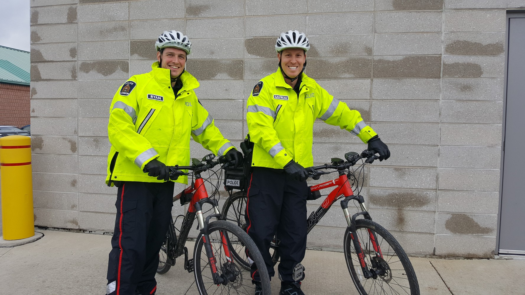 True North Police Cyclist