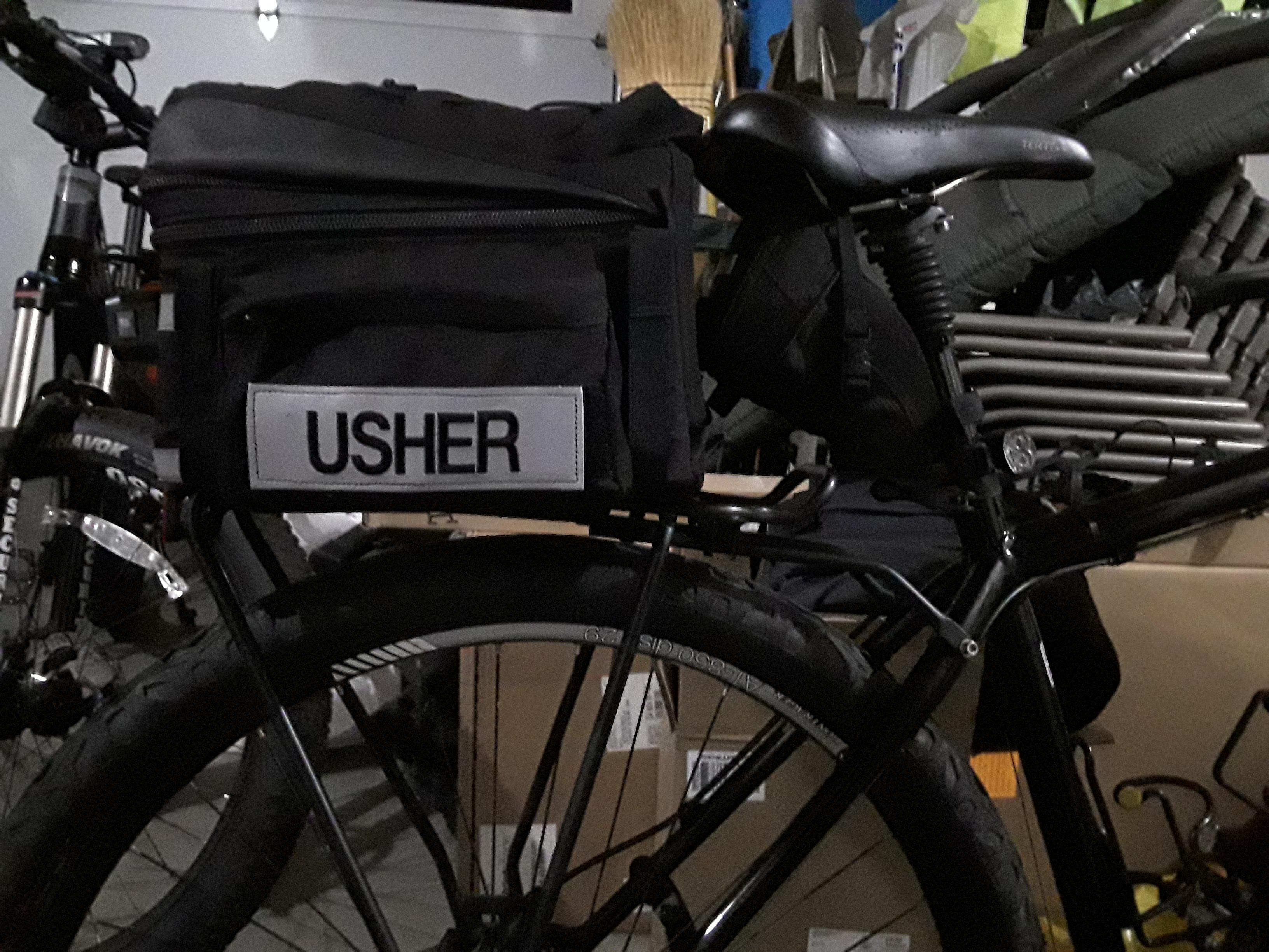 Bike Mounted Usher: A New Use for Bike Patrol