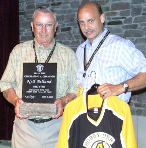 Neil Belland: Hockey Player to PCI