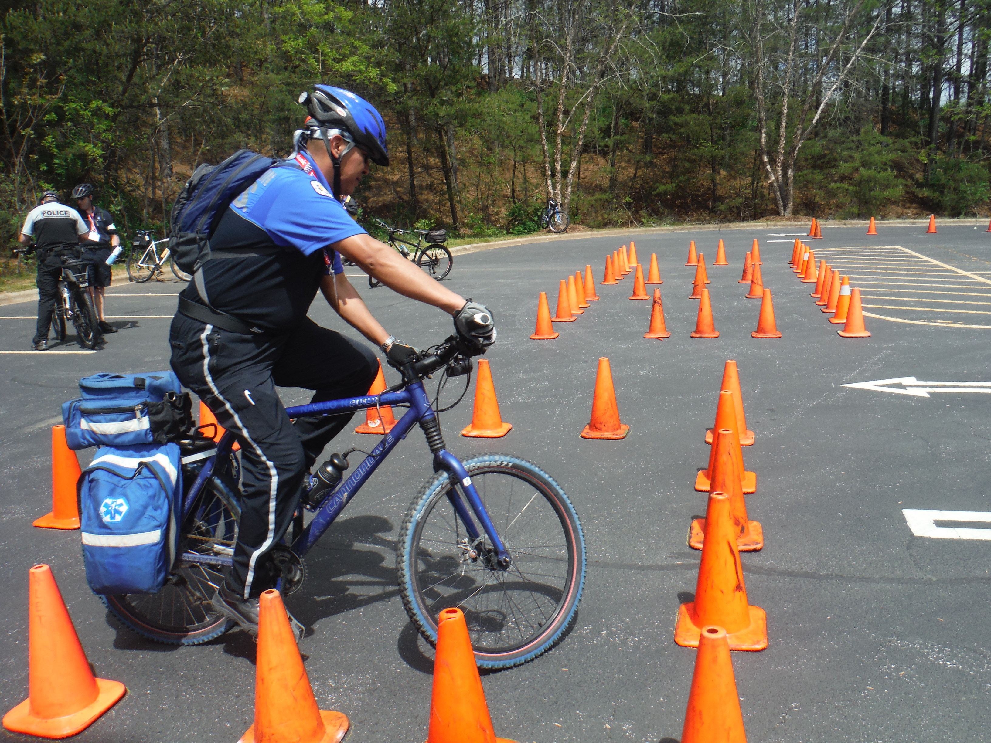 International Police Mountain Bike Conference held in Asheville