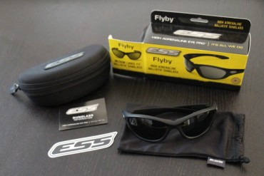 The Flyby: Eye Protection from ESS