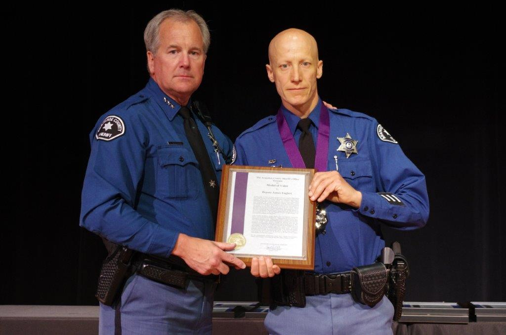 Arapahoe deputies recognized for bravery during high school shooting