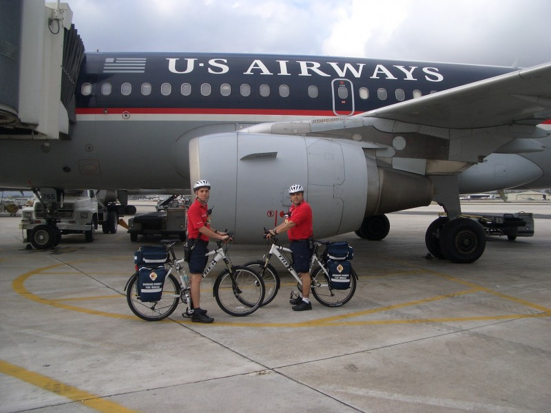 Wheeler Healers:  Fort Lauderdale Airport Bike Team Pilot