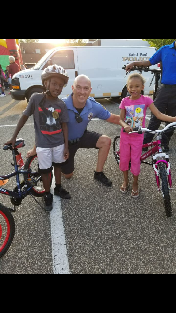 Saint Paul Police's Bike Cops for Kids: First Year Lessons Learned