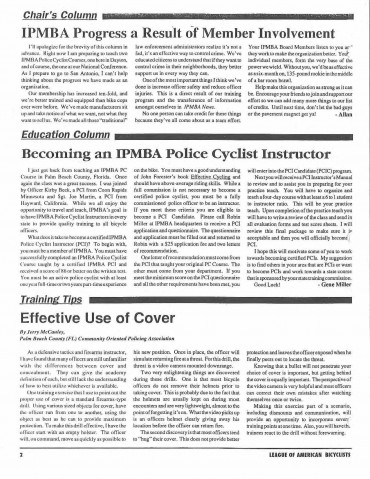 IPMBA News Vol. 3 No. 3 April 1994