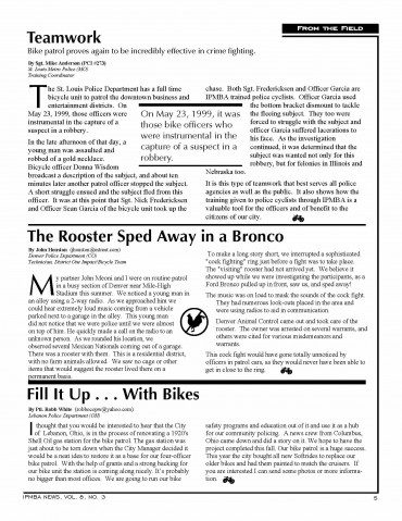 IPMBA News Vol. 8 No. 3 Fall 1999