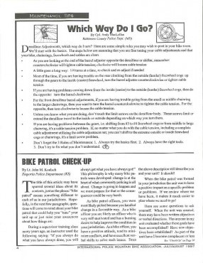 IPMBA News Vol. 6 No. 4  July/August 1997
