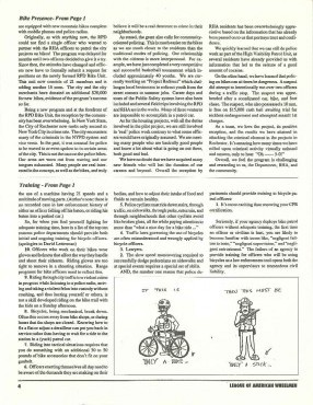 IPMBA News Vol. 2 No. 5  October 1993