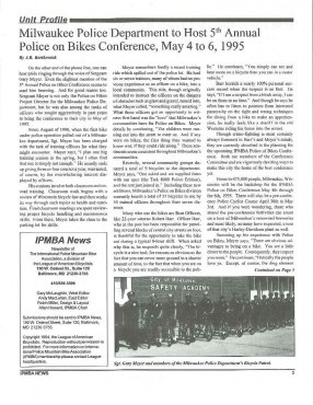 IPMBA News Vol. 3 No. 4  October 1994