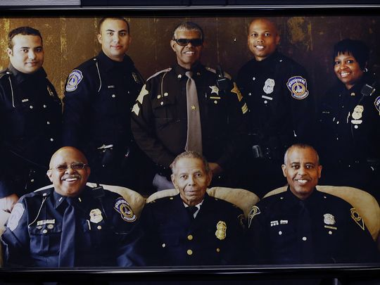 Family of black police officers stretches back generations