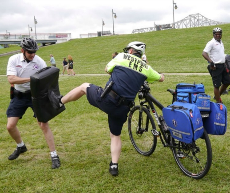 Krav Maga for Public Safety Cyclists