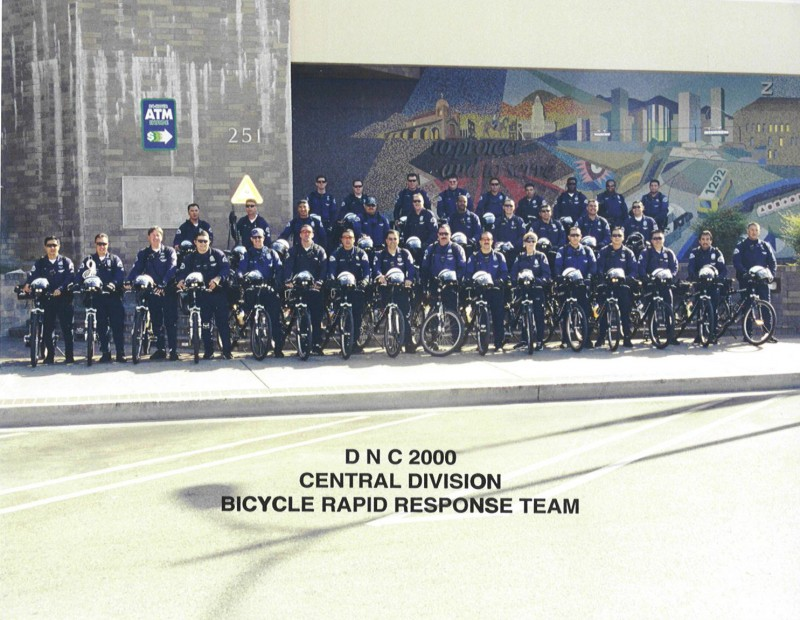 LAPD's Bicycle Rapid Response Team