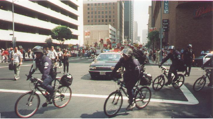 Police Bicycle Use in Crowd Control Situations