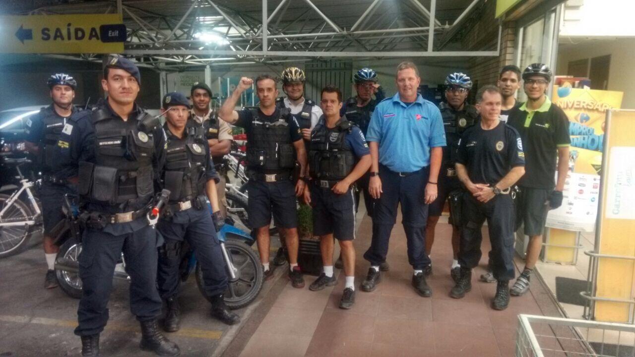 Associação Internacional de Bicicletas de Montanha da Polícia em Belo Horizonte, Brasil