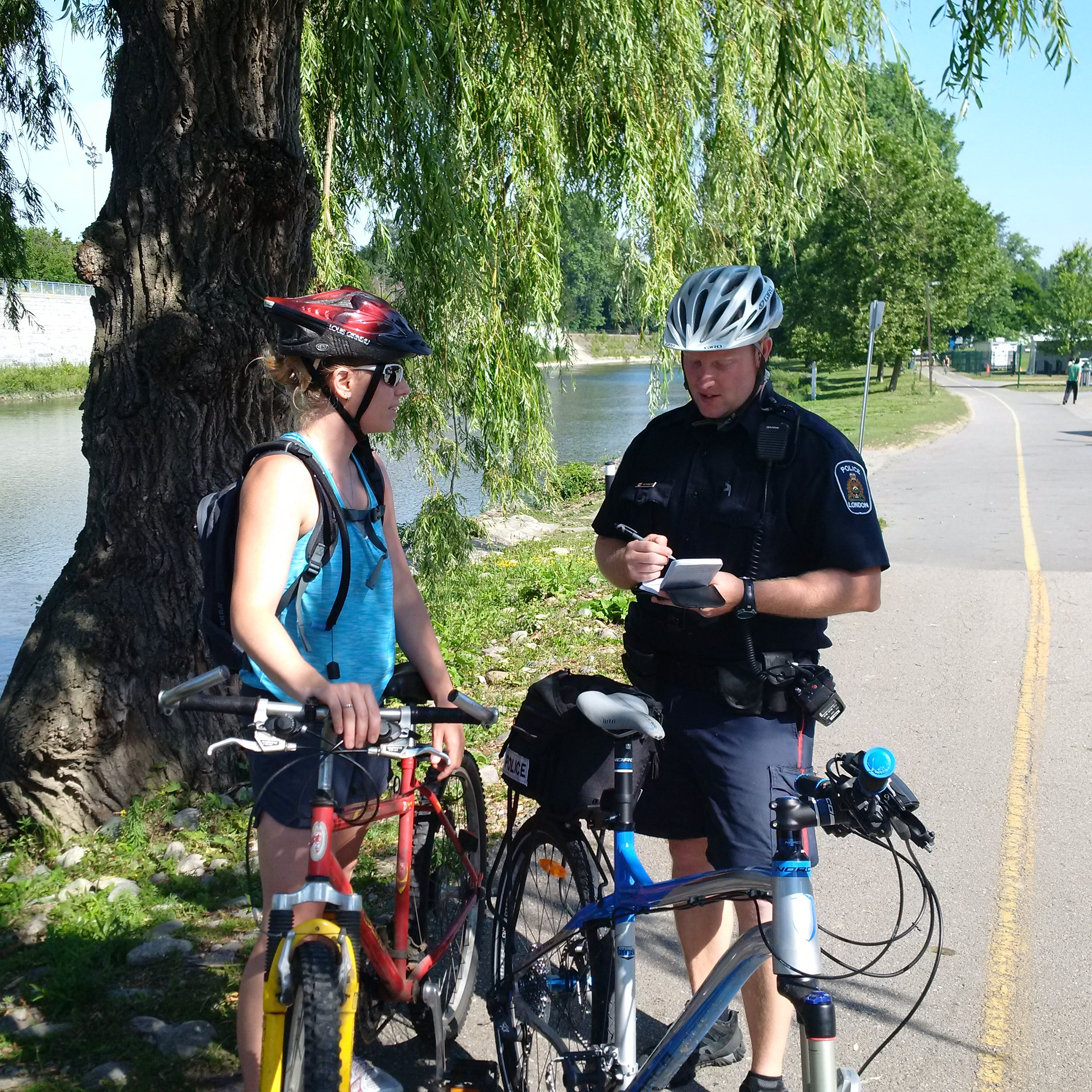 Making a Dent in the Cycle of Crime: London Police Service Expands Foot/Bike Patrol