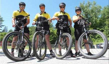 Barre's Civilian Bike Patrol helps police in summer