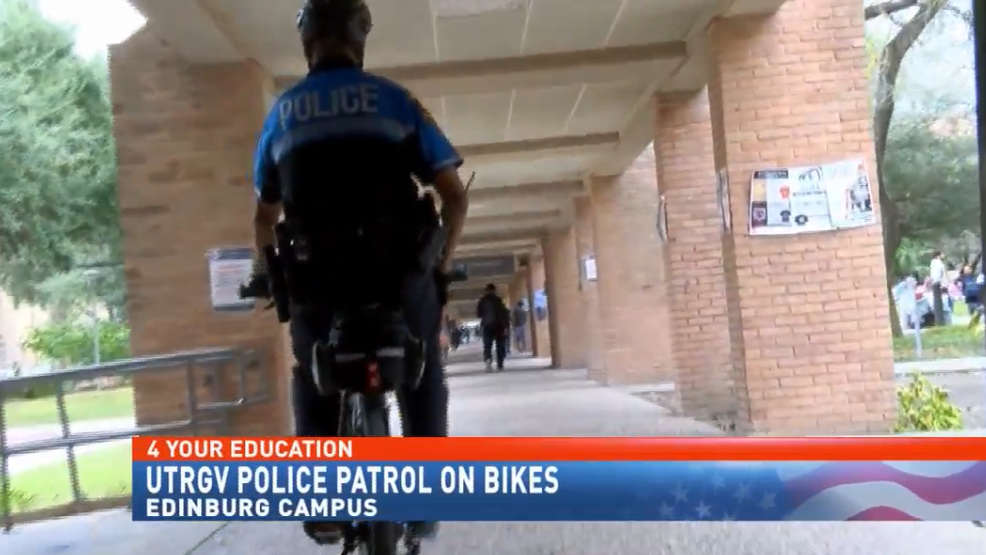 New UTRGV bike patrol to help promote better safety on campus