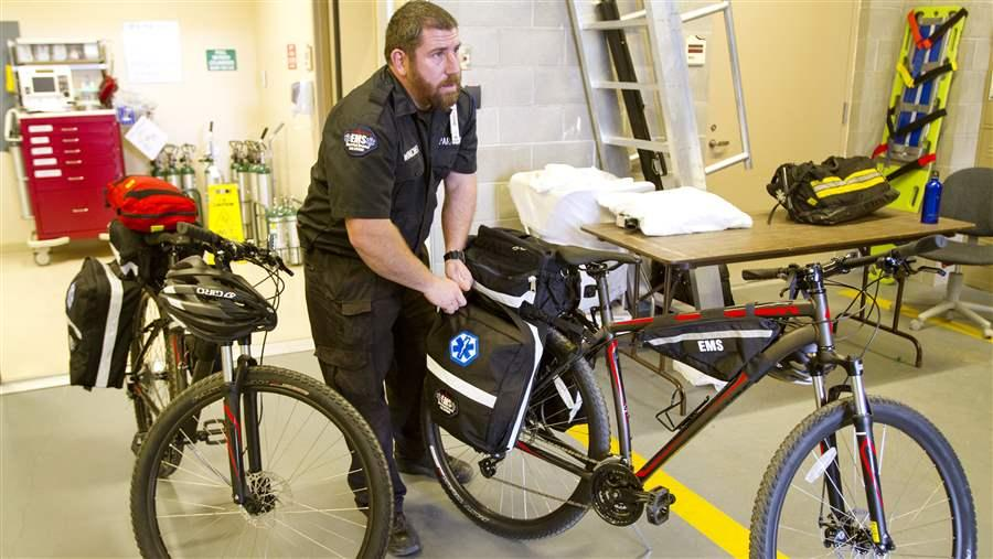 Bike Medics Bring Speedy Emergency Care to Patients