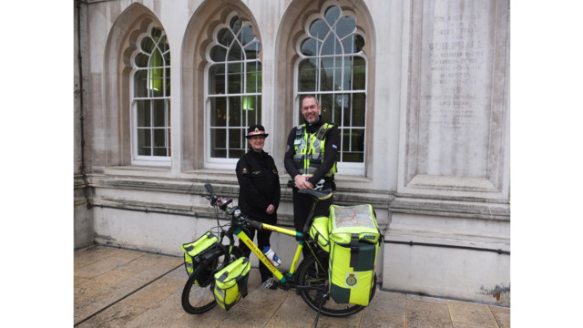 London Ambulance Service Bike Paramedics to Respond to Police Calls