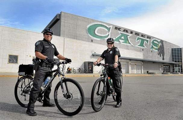 Fontana Unified School District police reinstate bicycle patrols
