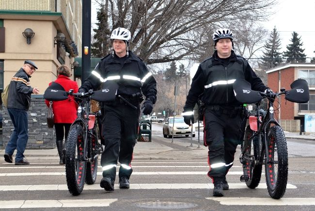 Edmonton Police fighting crime with fat bikes