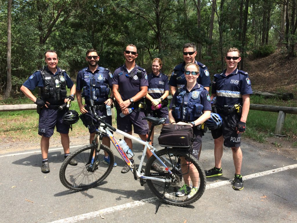 Fortitude Valley Bike Squad trains reinforcements