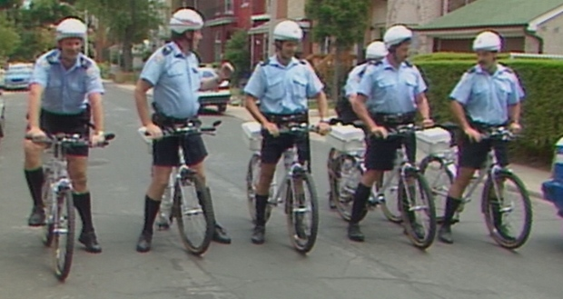 Honouring Toronto's first bike patrol, after 27 years
