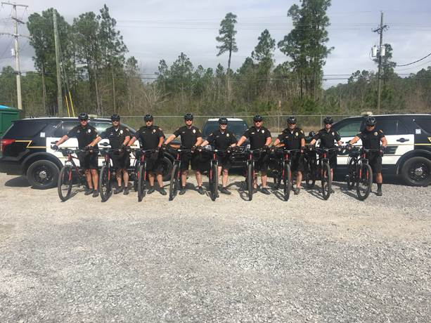 Pascagoula Police Department transitions some officers to bike patrol