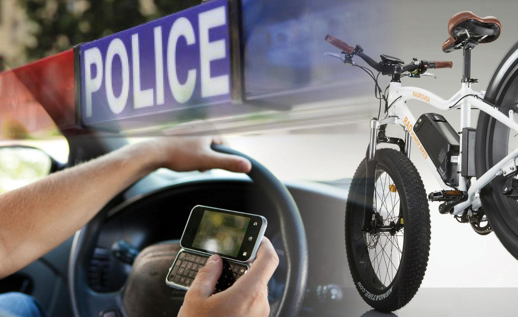 Cops take to bikes to nab driving offenders