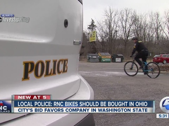Local law enforcement officers vouch for police bikes sold in Northeast Ohio for RNC