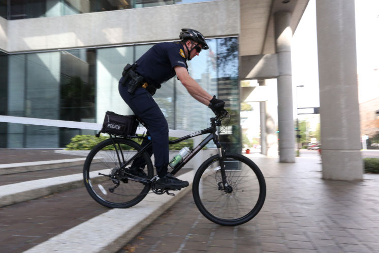For a growing downtown, Tampa announces bike patrol, business watch