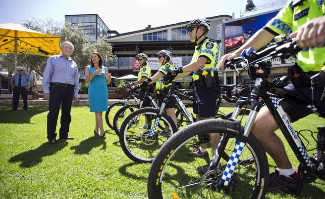 Pedal power as bike squad grows