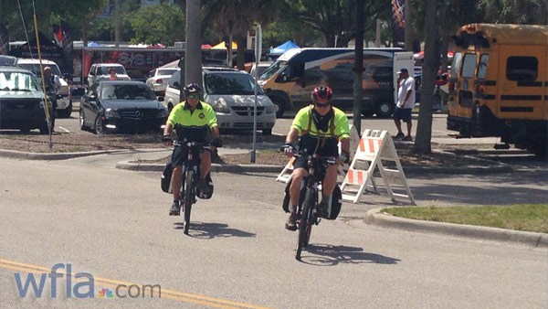 Sarasota Co. paramedics have new EMS bikes to quickly treat patients