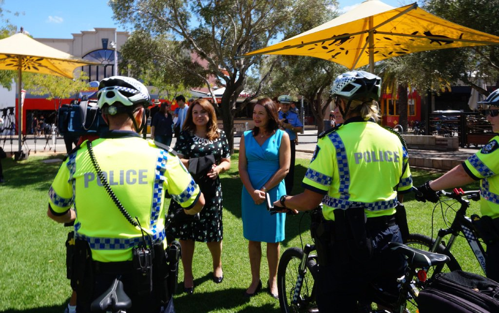 Police bike teams to help keep streets safe