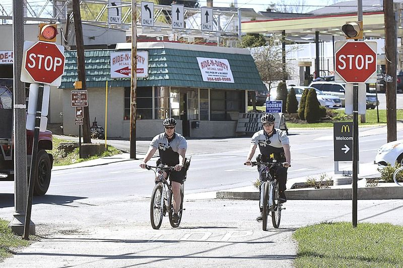 Beckley police roll out bike patrols in time for warm weather