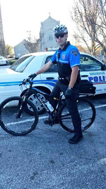 Greenville Expands Bicycle Patrols into Neighborhoods
