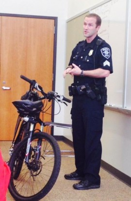 Block Watch Captains' Network: Bike-patrol briefing