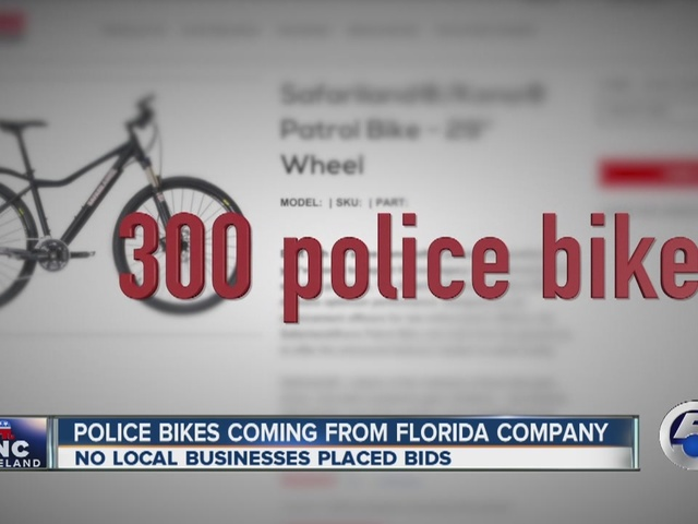 Republican National Convention police bike bid goes to Florida company