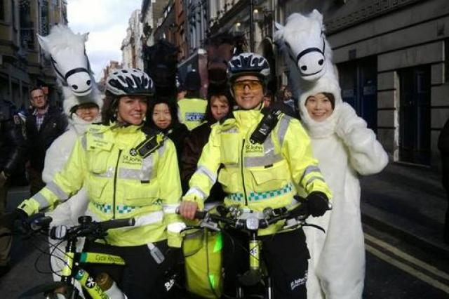 Largest ever Cycle Response Unit deployment set for London Marathon