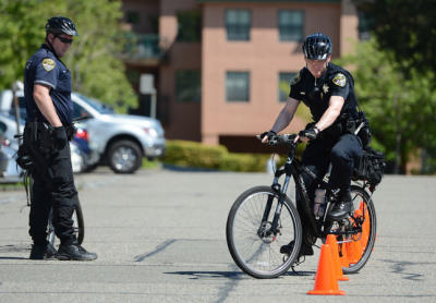 San Rafael police participate in bicycle training