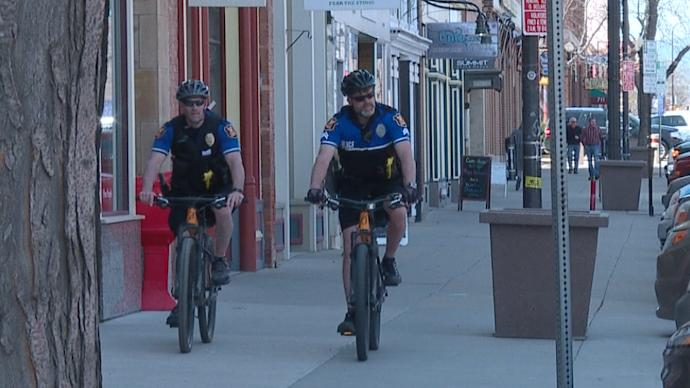 Bike patrol rolls out as temperatures rise