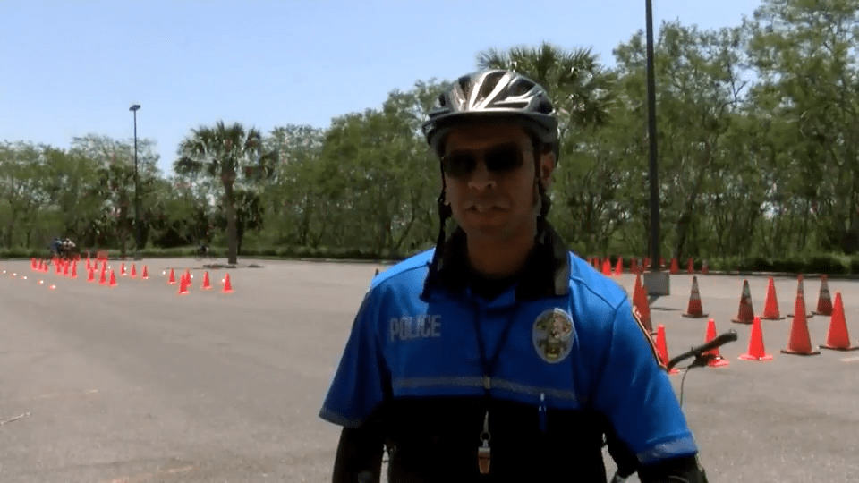 Local Law Enforcement Officers Attend Bicycle Patrol Training