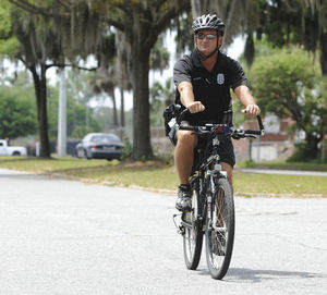 The bike cop: Bicycle patrols connect police chief to public