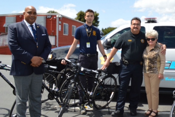 Gift Helps Buy 12 Bikes for UCSB Campus Patrol