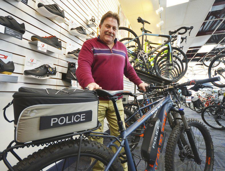 Police receive E-Assist bikes