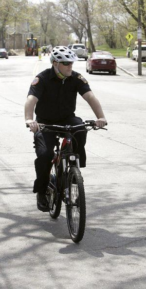 Marblehead police now pedal and zoom on eBikes