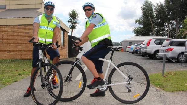 Bike patrol goes flat in Huntly