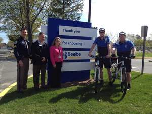 Beebe Healthcare Announces New Bicycle Patrols in Lewes