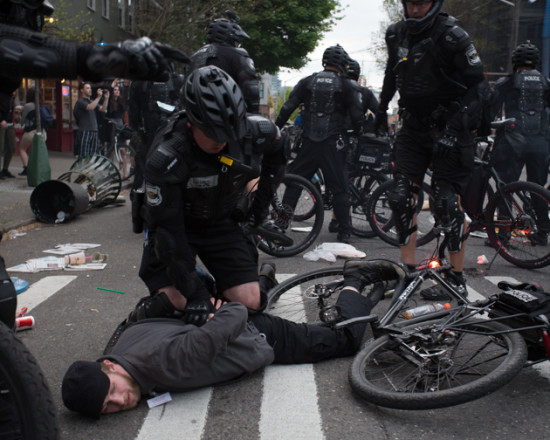 Council leader knocks May 1 police tactics